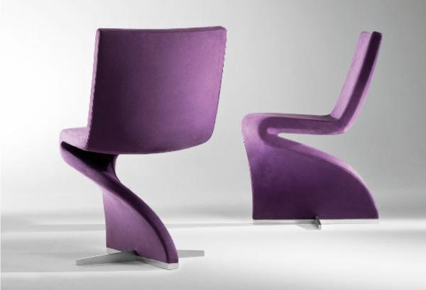 wunderschöne-moderne-Sessel-mit-coolem-Design-lila-Farbe