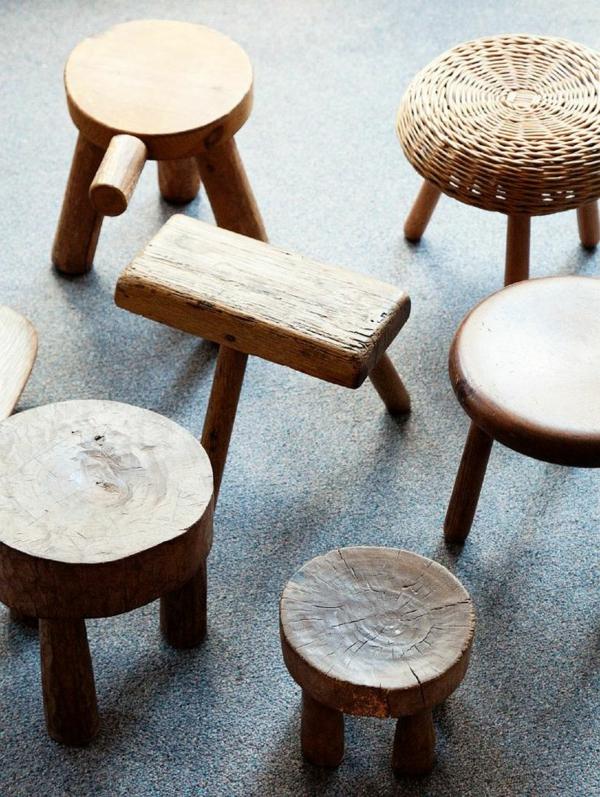 wunderschöne-praktische-Hocker-aus-Holz