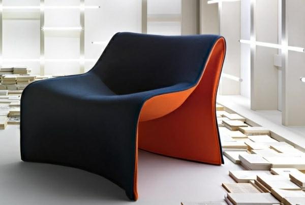 wunderschöner-Sessel-mit-coolem-Design-Schwarz-Rot
