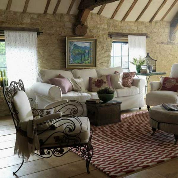 wohnzimmer deko : wohnzimmer deko rustikal ~ inspirierende bilder ... - Wohnzimmer Rustikal Gestalten