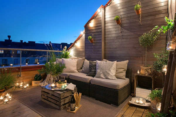 ideen f r die terrasse haloring. Black Bedroom Furniture Sets. Home Design Ideas