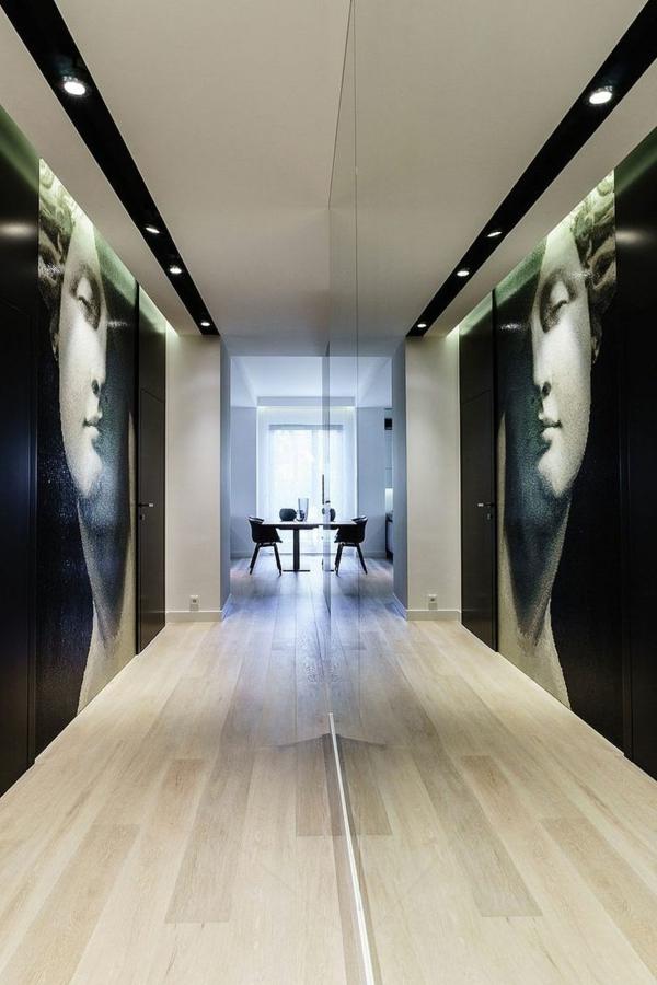 Zimmer Einrichtungsideen Großer Flur Mit Zwei Super Großen