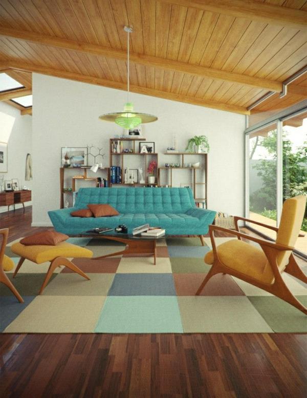 zimmer-einrichtungsideen-großes-wohnzimmer-mit-einem-blauen-sofa