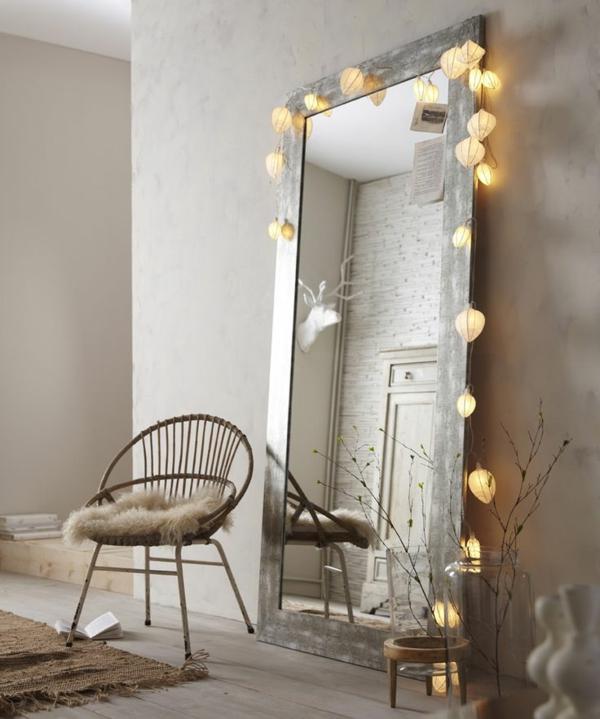 zimmer-einrichtungsideen-super-großer-spiegel-im-schlafzimmer