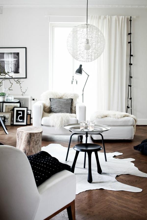 zimmer-einrichtungsideen-weißer-teppich-im-wohnzimmer