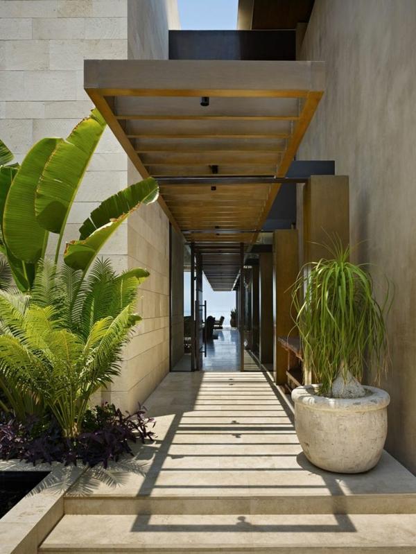 Überdachung-Eingang-Luxus-Design - Eingangsüberdachung