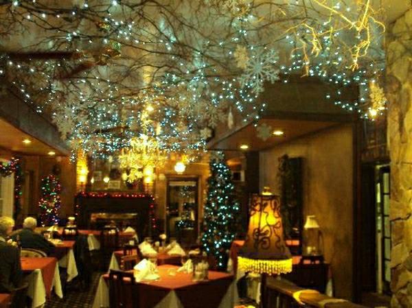 Weihnachtsdekoration - Ideen für Restaurants