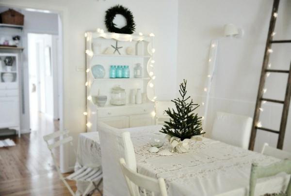 125 prima Ideen für weiße Weihnachtsdeko! - Archzine.net