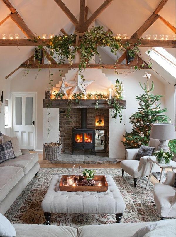125 prima ideen f r wei e weihnachtsdeko - Design weihnachtsdeko ...