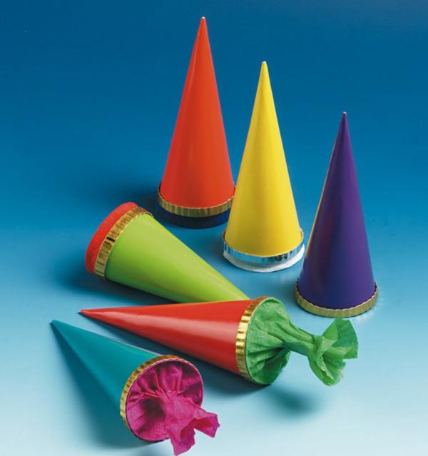 super schöne Einschulung Deko in bunten farben