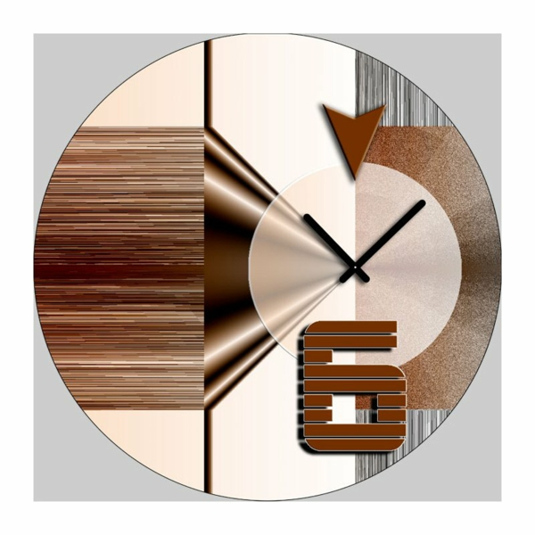wanduhren wohnzimmer modern wtl wall clock kreativer taktgeber minimalist modern office. Black Bedroom Furniture Sets. Home Design Ideas