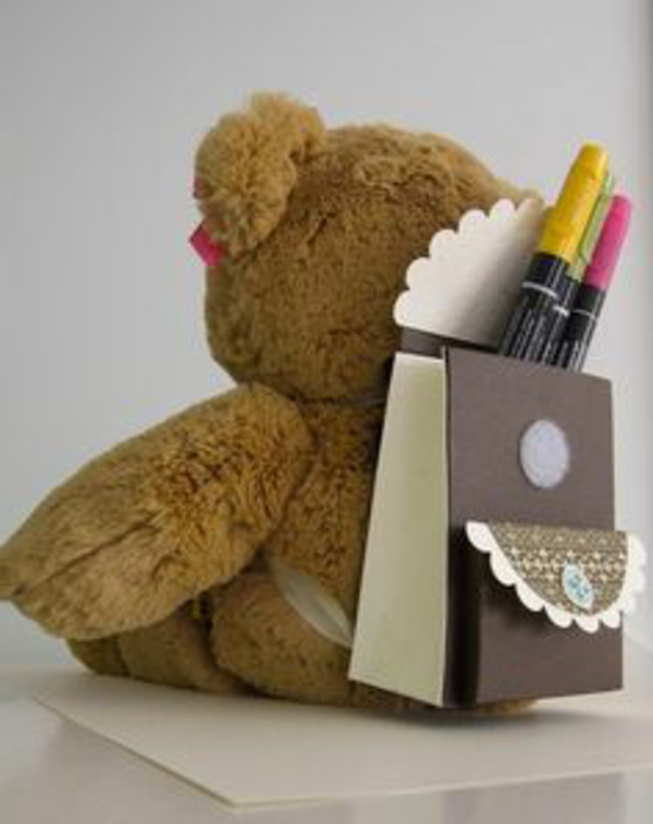 interessante Einschulung Deko - teddy bär