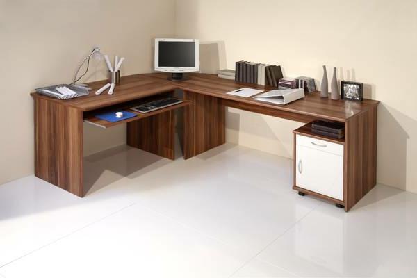 Büro-Schreibtsch-Massivholz-Design-Schreibtisch
