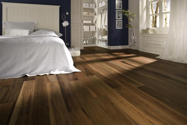Parkettboden Stil Und Klasse In Fotos Archzinenet - Bodenbelage schlafzimmer