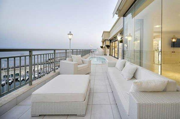 Dachterrasse Mit Fantastischer Aussicht Penthouse Erstaunliche Moderne  Terrassengestaltung ...