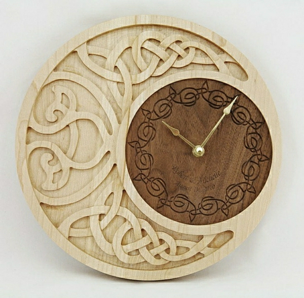 Wooden Clocks: 31 Favorite Projects and Patterns Scroll Saw Woodworking and Crafts