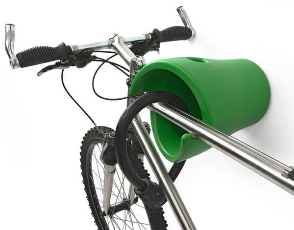 fahrradhalter 40 moderne und praktische ideen. Black Bedroom Furniture Sets. Home Design Ideas