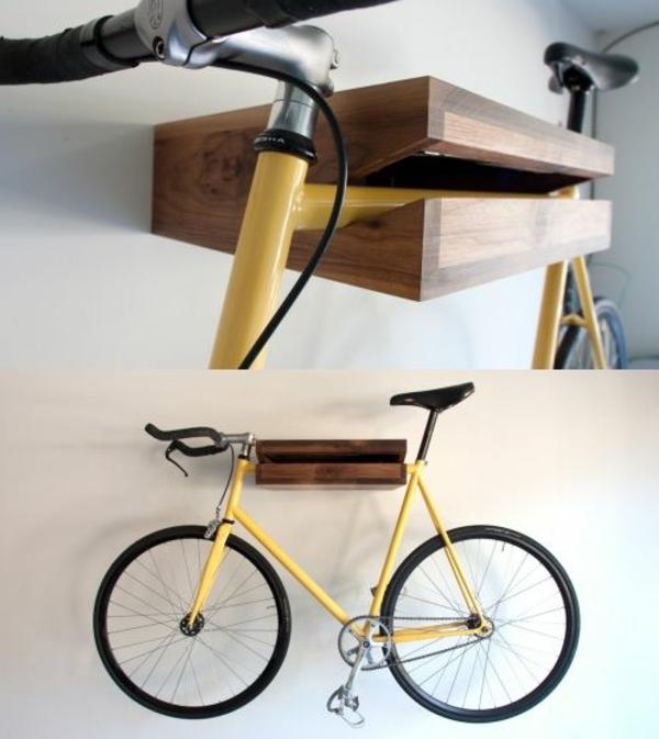 Fahrradhalter 40 Moderne Und Praktische Ideen Archzinenet