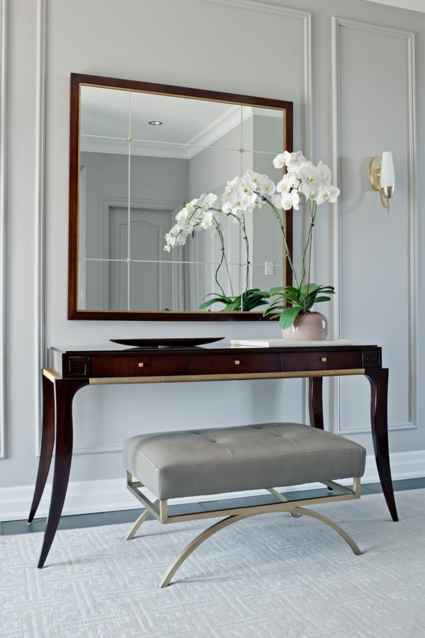 Flur gestalten Flur-Möbel-Kommode-Flur-schöne-Einrichtung