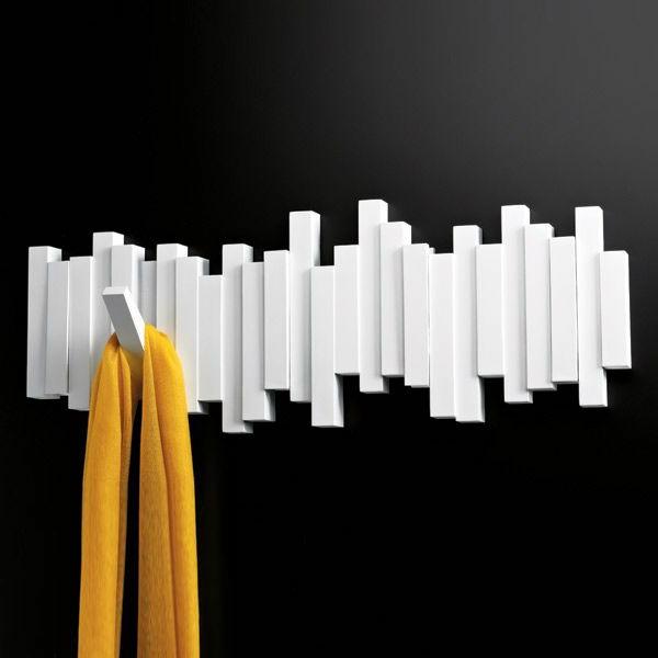 Garderobenhaken-Holz-in-weißer-Farbe