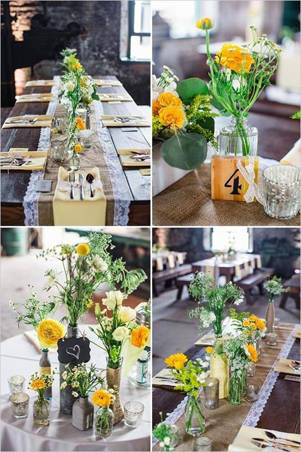 Hochzeitdeko-fantastische-elegante-und-stilvolle-Ideen-zur-Dekoration-mit-gelben-Blumen