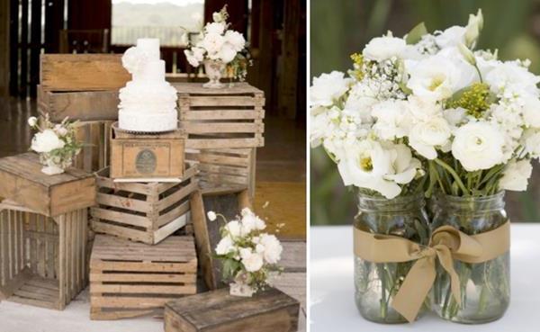 Hochzeitsdeko-für-Tisch--wunderschöne-stilvolle-Ideen