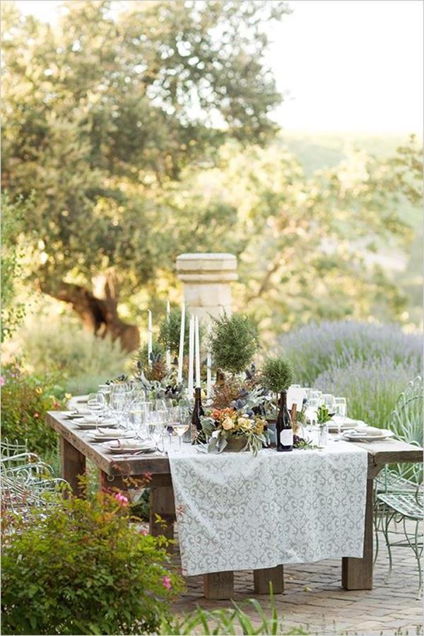 Hochzeitsdeko--für-Tisch--wunderschöne-stilvolle-Ideen