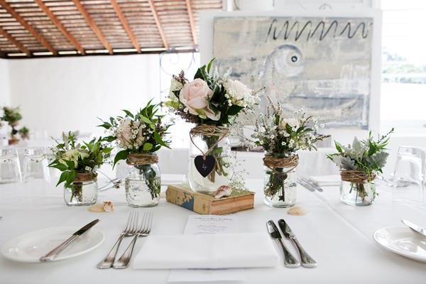 --Hochzeitsdeko-für-Tisch-wunderschöne-stilvolle-Ideen