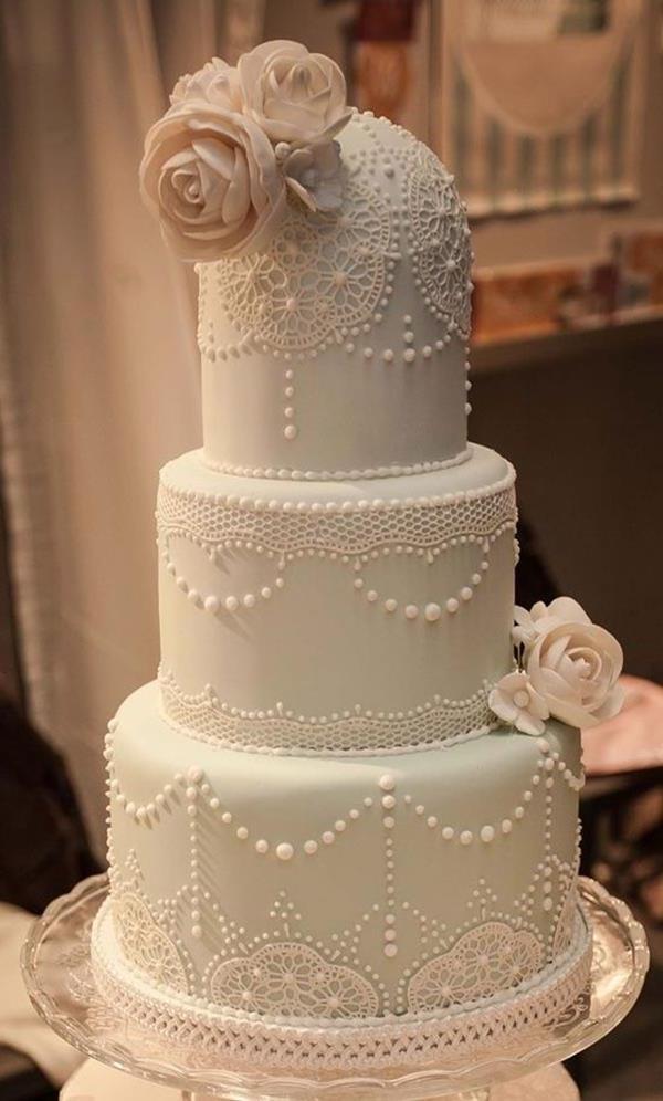 Hochzeitstorte-Tischdeko-Hochzeit-Hochzeitsideen-Vintage-Tischdeko-Ideen