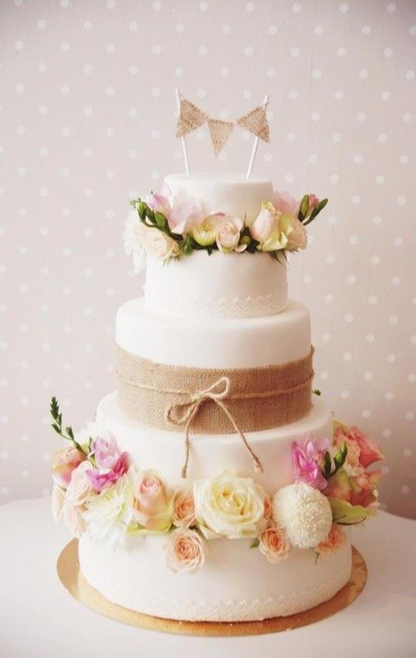 Hochzeitstorte-fantastische-Dekoideen-Hochzeitsdekoration ...