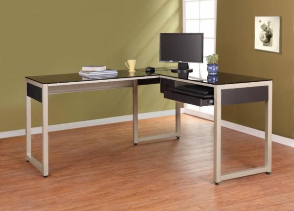 Homelegance-Network-L-Shape-Glass-Top-Computer-Desk