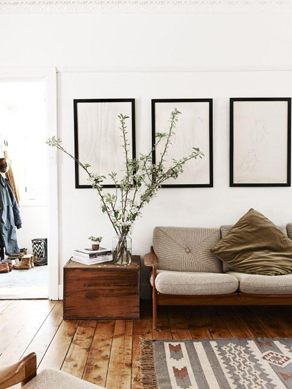 coole wohnzimmer ideen:Ideen-Wandgestaltung-Wohnzimmer-Interior-Design-schöne-Ideen-