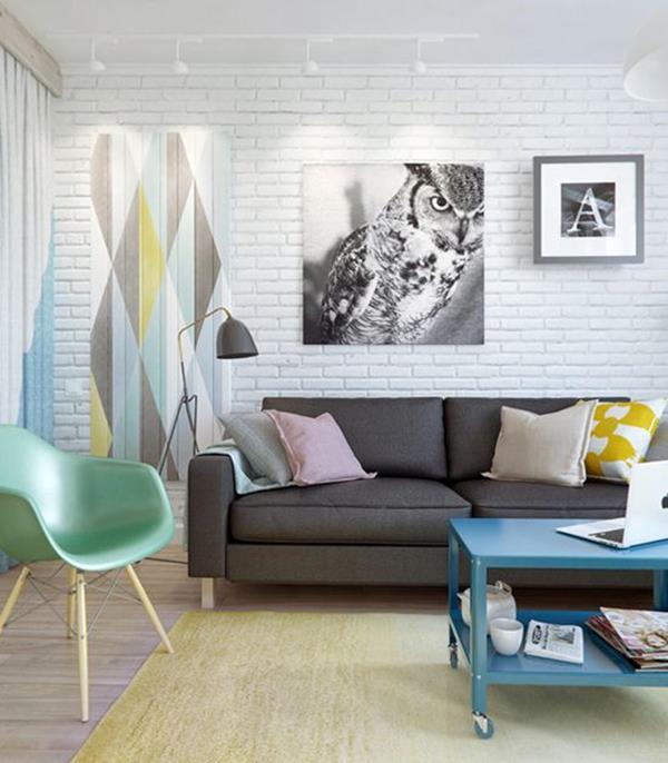 Ideen-Wandgestaltung-Wohnzimmer-Interior-Design--schöne-Ideen
