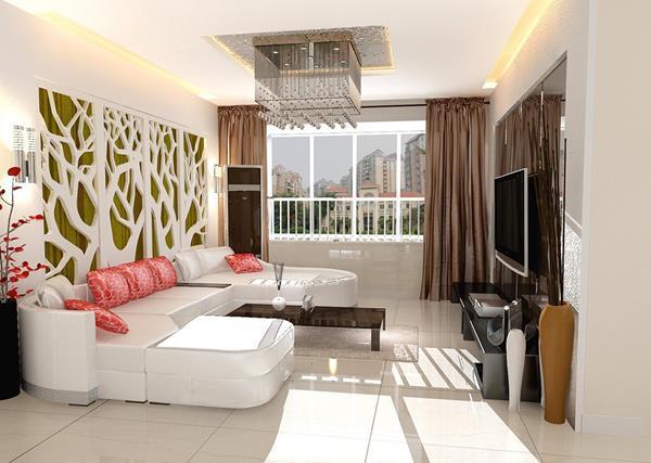 -Ideen-Wandgestaltung-Wohnzimmer-Interior-Design-schöne-Ideen