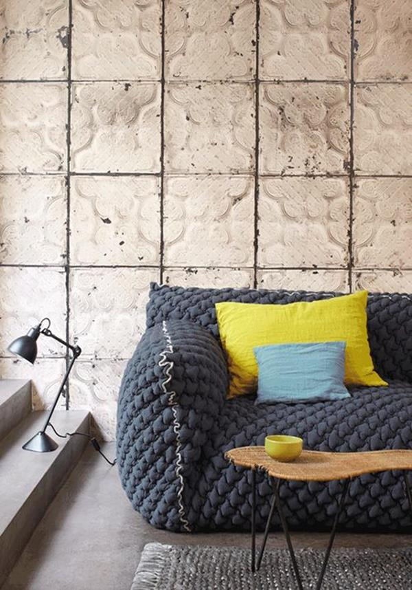 coole wohnzimmer ideen:Ideen-Wandgestaltung-Wohnzimmer-Interior-Design-schöne–Ideen