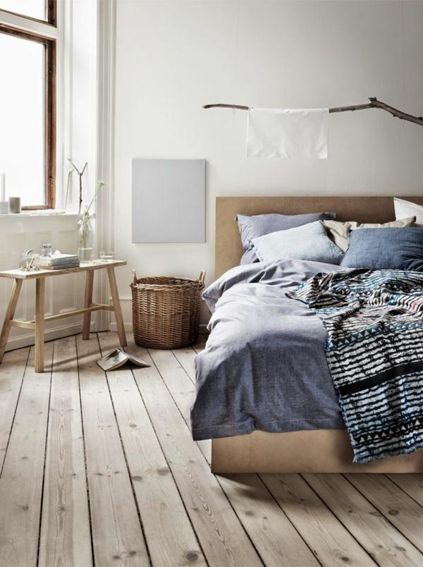 Interior-Design-Ideen-Bodenbeläge-aus-Holz-Schlafzimmer-einrichten