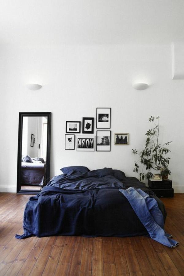 Interior-Design-Ideen-Bodenbeläge-aus-Holz-im-Schlafzimmer