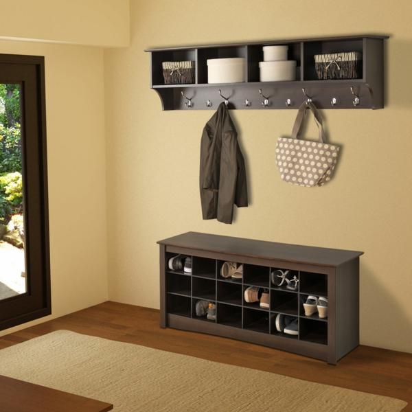 Interior-Design-Ideen-Flurmöbel-aus-Holz-
