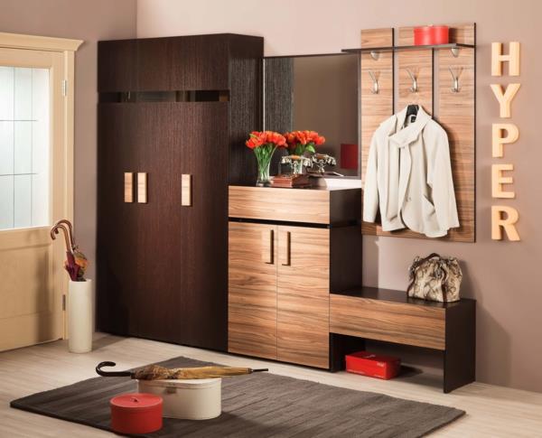 -Interior-Design-Ideen-Flurmöbel-aus-Holz-