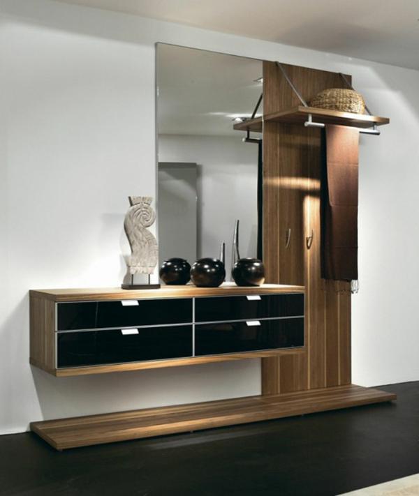 Interior-Design-Ideen-elegante-Flurmöbel-aus-Holz
