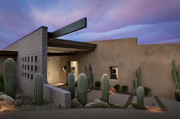 Kaktus-Haus-Überdachung-Eingang-Luxus-Design