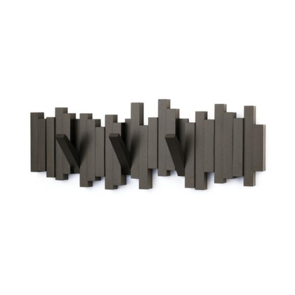 Kleiderhaken-klappbar-aus-Holz-effektvolle-Lösung-für-Aufhängen-von-Kleidern-