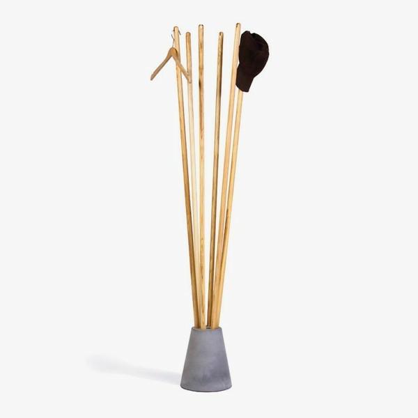 -Kleiderständer-Holz-effektvolle-Modelle-für-den-Flur-