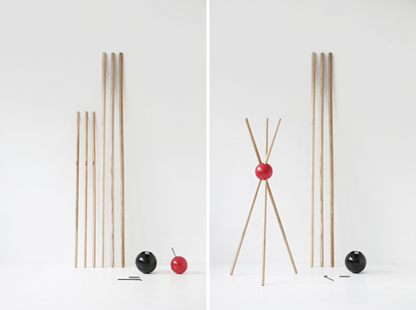 Kleiderständer-Holz-effektvolle-Modelle-für-den-Flur-selber-bauen