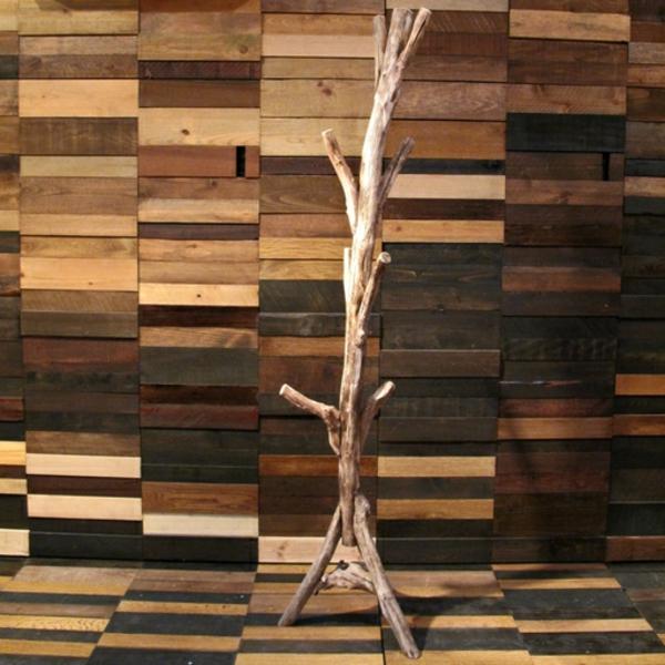 Kleiderständer Aus Holz Design ~ Kleiderständer aus Holz effektvolle Modelle für den Flur