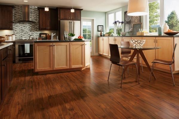 Küchendesign-mit-Holzboden