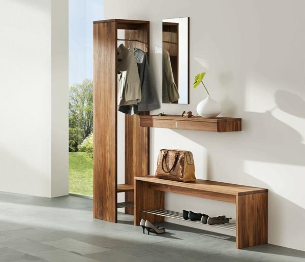 Luxus-Design-Wohnideen-für-Zuhause-Flur-mit-modernen-Möbeln