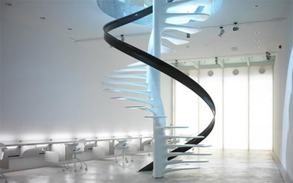 Luxus-Innenarchitektur-Windeltreppe-mit-ultra-modernem-Design