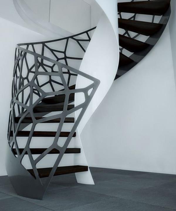 Luxus-Interior-Design-Ideen-faszinierende-Innentreppe