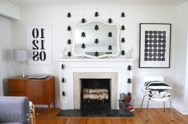 Modern-paper-tree-garlands-modern-christmas-decoration-ideas-resized